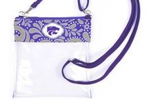 K-State Accessories / Whether you're out on the town or tailgating at the next KSU game, pack just what you need in our trendy bags! Plenty of styles for every super fan!