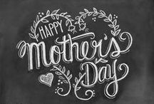 HOLIDAY: MOTHER'S DAY / Gift Ideas and crafts for Mother's Day