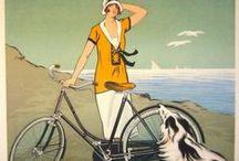 My white bicycle / Vintage velos
