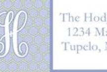 Address Labels / At PoppySeed Paper, we offer a wide variety of Address Labels and are constantly adding to our collection. We offer Rectangle (sheets of 30) and Circle (sheets of 20).  Proofs will be emailed to you within 2-3 business days, and printing takes 5-6 business days following proof approval. For more info, please visit www.poppyseedpaper.com