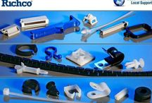 Richco Plastics / Bushings Bumpers & Feet Cable Ties & Accessories Card Guides Circuit Board Supports Component Insulators and End Caps Cord & Edge Protectors Heat Shrink Tubing