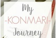MY KONMARI JOURNEY / KonMari-inspired posts - Follow 'My KonMari Journey', based on the book, The Life-Changing Magic of Tidying Up.