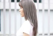Hair Color - Ash / Silver / Grey / A variety of gorgeous hair color designs created by Number76 Hair Salon's team of professional stylists in Malaysia, Singapore and Tokyo, Japan.