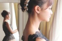Hair Arrangement / A variety of gorgeous hair arrangement designs created by NALU & Number76 Hair Salon's team of professional stylists in Malaysia, Singapore and Tokyo, Japan.