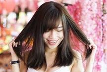 Hair Color - Natural Dark / A variety of gorgeous hair color designs created by Number76 Hair Salon's team of professional stylists in Malaysia, Singapore and Tokyo, Japan.