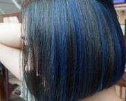 Hair Color Design - Highlights / A variety of captivating hair color designs created by NALU & Number76 Hair Salon's team of professional stylists in Malaysia, Singapore and Tokyo, Japan.