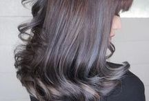 Hair Color Design - Balayage / A variety of beautiful balayage hair color designs created by NALU & Number76 Hair Salon's team of professional stylists in Malaysia, Singapore and Tokyo, Japan.