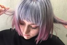 Hair Color Design - Dual Tones / A variety of creative hair color designs created by NALU & Number76 Hair Salon's team of professional stylists in Malaysia, Singapore and Tokyo, Japan.