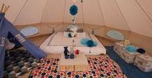 Bell tent camping / Bell tents, camping, galloping and life under the stars!