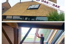 dakramen / zolder inspiratie,   skylights, dachfenster, Claraboya / Verzameling van allerlei inspirerende mogelijkheden voor de zolder, vliering en woonruimtes onder een hellend dak met toepassing van dak-beglazing zoals dakramen en daglichtvoorzieningen