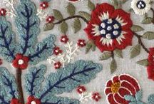 Beautifully Handmade / embroidery, textiles, fabric, art