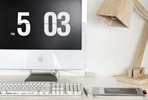 ☏ Work space / Comfortable and inspirational work spaces.