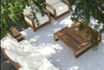 ✿ Outdoor living / Dreaming of my future garden, balcony, rooftop terrace or patio. ❀