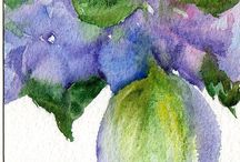 Watercolor goodness / by Mary Ann A. aka Bella ART