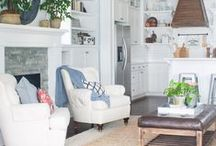 Blogger Home Tours / Farmhouse decor, Cottage Inspiration and tons of Holiday Decorating Ideas