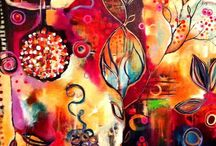 Loving Color / Stunning colors in art that delight my spirit