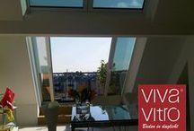 Viva Vitro® - Creatieve dak beglazing / Sfeerfoto's van Viva Vitro® dakbeglazings mogelijkheden en Projecten           -           info: www.DAKDIDAK.nl