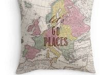 Map Decor / by Diana Trotter