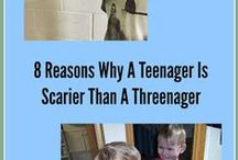 Teenagers / Ideas to help bond with teenagers...and to deal with their attitude.