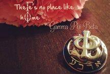 I am a G / I am a G-A-M-M-A Phi Beta Girl! / by Danee Norris
