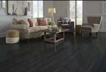 Floors: Laminate & Vinyl / Laminate is a great type of floor if you're looking for something that is reasonably priced, has the look of real wood, and is durable as well.  You'll find a wide selection at Lumber Liquidators. / by Lumber Liquidators