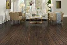 Floors: Bamboo / Bamboo flooring offers the performance and look of exotic hardwood for less. It's a fast-growing grass that produces new stalks without the need for replanting!