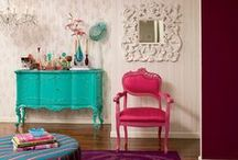 Decoração / Para sonhar e se inspirar, afinal a decoração é o que torna o nosso lar aconchegante e a nossa cara! :)