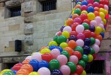 Balloon Drops / Ever experienced 1000s of balloons floating down from the roof at new years?  You should!  See the photos of our recent balloon drop set ups!