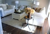 Home Inspiration: Living Rm / Get inspired with living room decor we love!