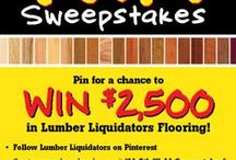 LL 5th WaLL Sweepstakes / My favorite Lumber Liquidators floors & pins that inspire me to decorate me home! #5thWaLL / by Lumber Liquidators