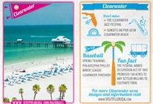 Baseball in Florida / Baseball is better at the beach! Check out these baseball cards featuring Florida cities where you can catch a game. Play ball!