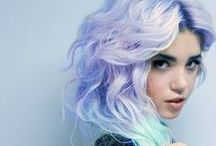 Pastel Mermaid Hair / Pastel colored hair  / by Charissa Kinney