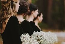 My Maids in Black / by Courtney Balen