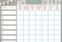 Kids Chore Charts/Incentives / by Kristen Hamilton