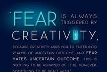Creativity Tap / Tap back into your creativity: Inspiration + Resources + Excercises