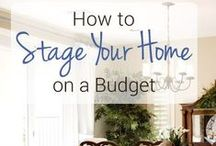 How to: stage your home! /  Did you know your house will sell faster with a staging? Here's some tips and tricks to stage your home!
