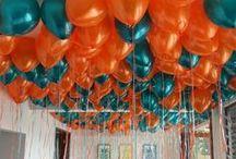 Loose Helium Balloons / Free floating helium balloon fun!