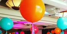 3ft Round Balloons / These HUGE 3ft (90cm) balloons really bring vibrancy to your event and are a great way to add decorations to larger venues. They can be used as table centrepieces or floor features to add pops of colour to a venue. Customise them further with tulle, confetti, tassels, Ivy and more!