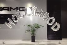 Megaloon - Large Letters and Numbers / Megalloons are giant 1m foil balloons that can be used as spectacular feature arrangements