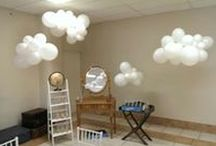 Christening Balloon Ideas / Many classic ways to decorate a Christening