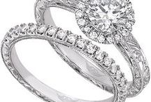"""Martin Flyer Bridal / FlyerFit engagement rings and wedding band sets fit together perfectly, eliminating """"the dreaded gap"""" that exists between the two rings. Visit G. Thrapp Jewelers to see the beauty and quality of Martin Flyer Engagement Rings and Martin Flyer Wedding Bands. / by G. Thrapp Jewelers"""