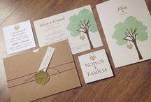 Abelha Design / Convites, papelaria e mimos para casamento!
