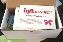 Influenster Holiday VoxBox 2012 / All products provided complimentary for testing purposes from Influenster.