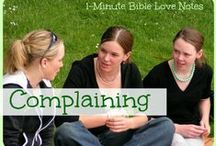 ♥ Overcoming Temptation ♥ / These 1-minute devotions from BibleLoveNotes.com encourage us to deal Biblically with temptation.