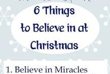 Christmas ♥ / These 1-minute devotions from BibleLoveNotes.com are about Christmas. In addition, there are some creative posts about Christmas decor and crafts.