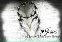 EASTER ♥ / These 1-minute devotions from BibleLoveNotes.com focus our thoughts on the incredible sacrifice and Resurrection of our Lord Jesus Christ.