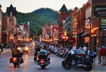 STURGIS -2015 / Ideas and things to do and see on our way to Sturgis this summer. Been to S. Dakota before but time to do it up better on the way through this time.  The roads to and sites to see on the bikes on the way there, and what to do and see while we're there / by April Cochrane