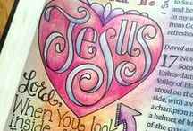 ♥ Jesus Journaling ♥ / ♥ A place to find ideas and inspiration for creative Bible journaling. ♥