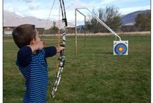 ASPENS ARCHERY / My daughters little helpful hints and such for the sport/skill she will be working on this summer.
