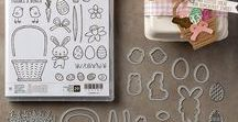 Stampin' Up! Basket Bunch Bundle / Stampin' Up! Basket Bunch stamp set and bundle from the Occasions Catalog 2017. You can order this in my online store at: http://www.stampinup.com/ECWeb/default.aspx?dbwsdemoid=2170559